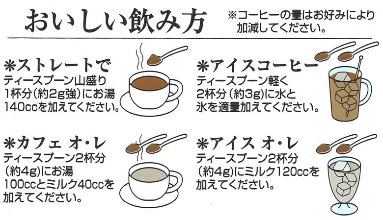ワルツ インスタントコーヒー アロマテイストの美味しい飲み方