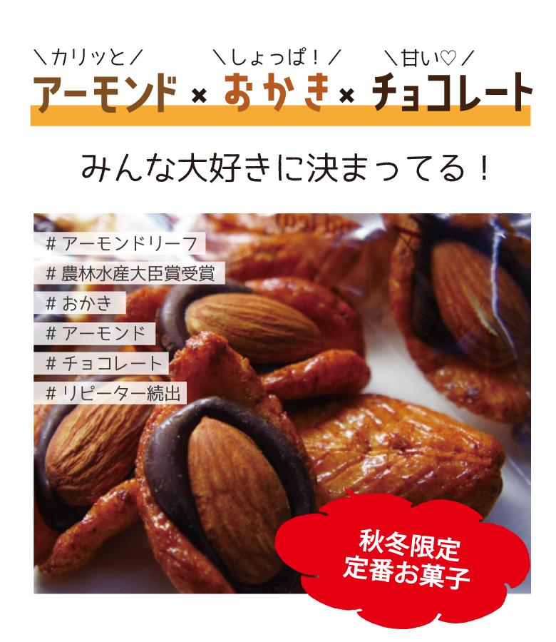 井崎商店 アーモンドリーフ 200g おかき