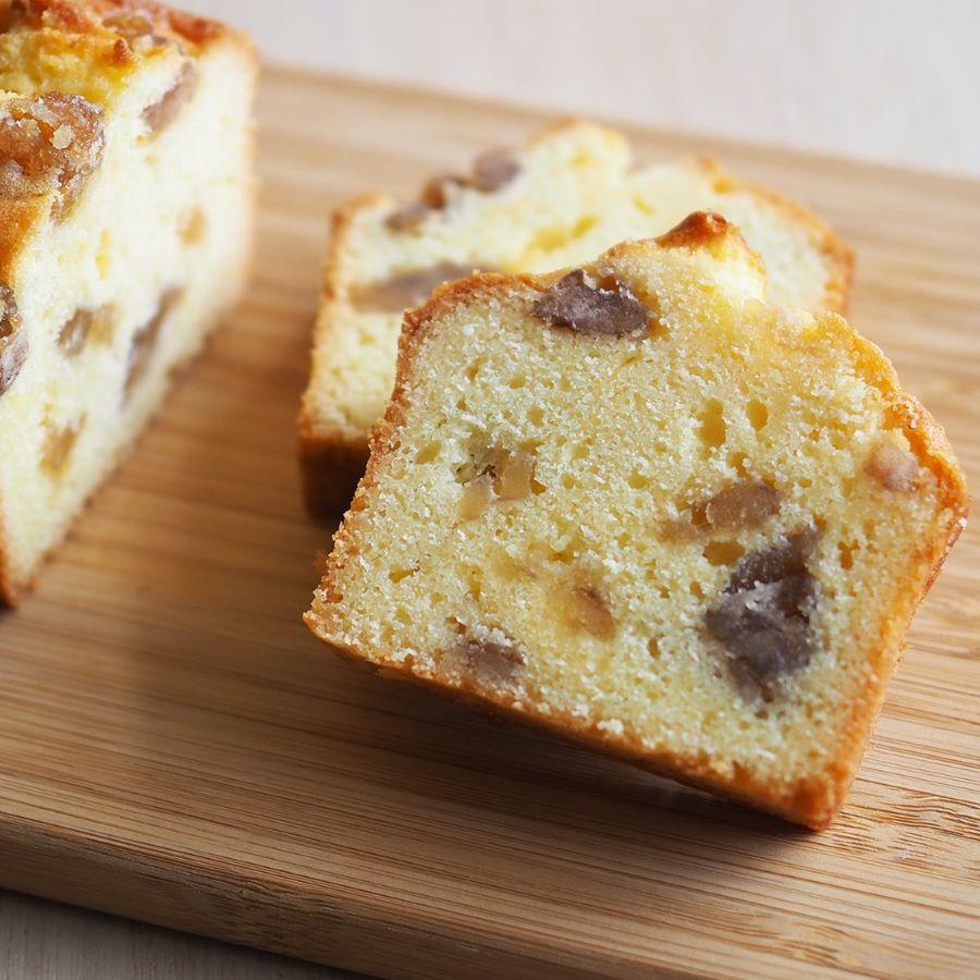ごろごろ栗のパウンドケーキ